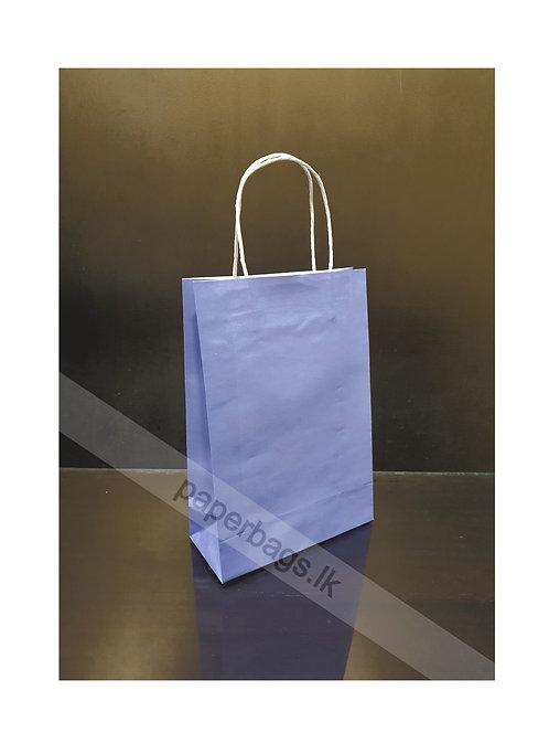 Carrier Bag Baby Blue 28x20x09cm