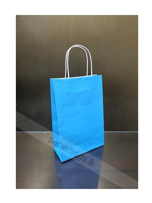 Carrier Bag Sky Blue 28x20x09cm