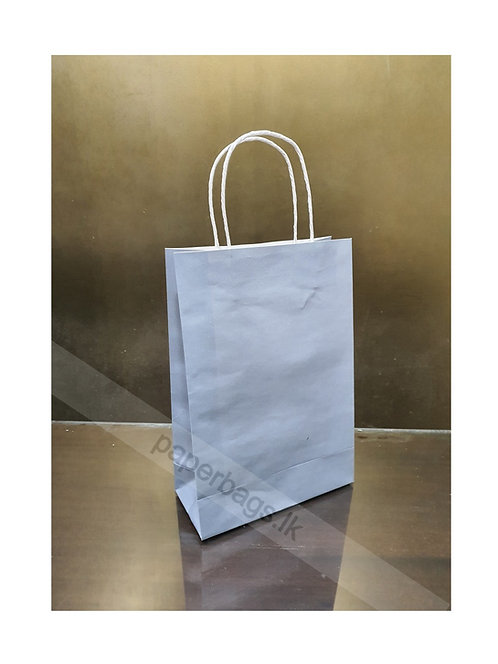 Carrier Bag Gray 28x20x09cm
