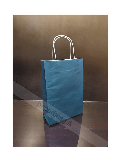 Carrier Bag Emerald Green 28x20x09cm