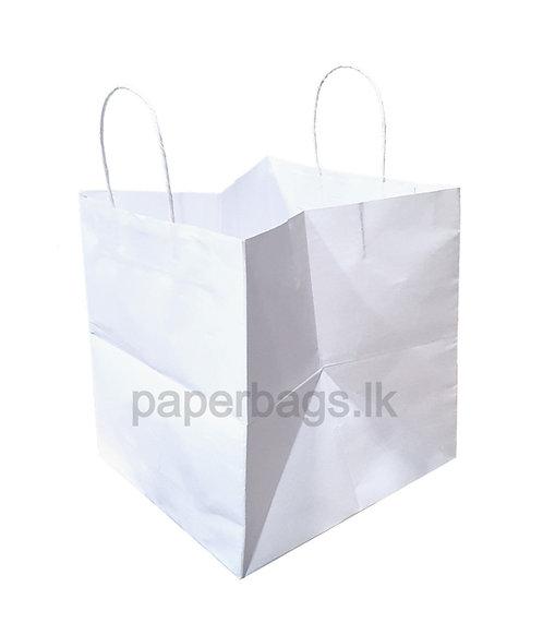 White Cake Bag