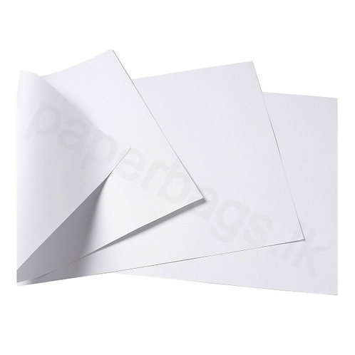 White Kraft Paper 130gsm 45x55cm