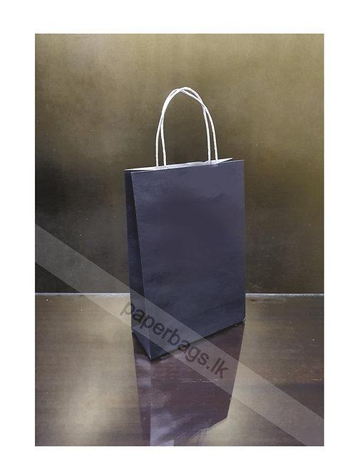 Carrier Bag Black 28x20x09cm