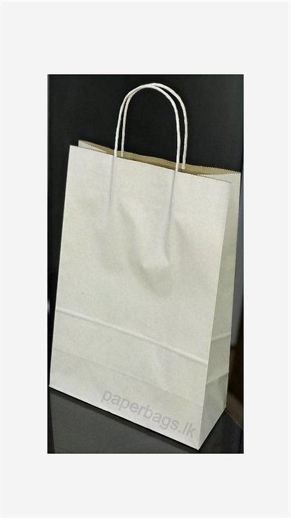 Carrier Bag White 29x25x15cm