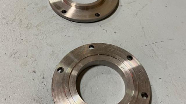 Pair of Custom Adapters for New Drive Shaft Installation