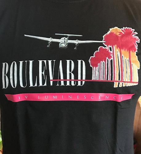 Mens Boulevard IV Luminescence W/pink band T-Shirt