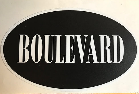 Boulevard sticker