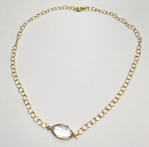 Clarity Oval Necklace