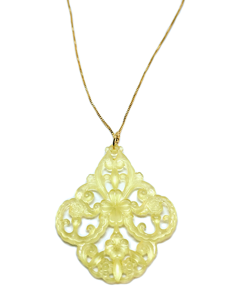 Intricate Necklace in Pineapple