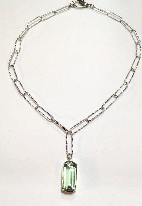 Shore Necklace Peridot Quartz