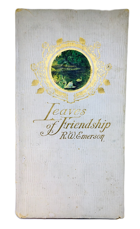 Leaves of Friendship Book