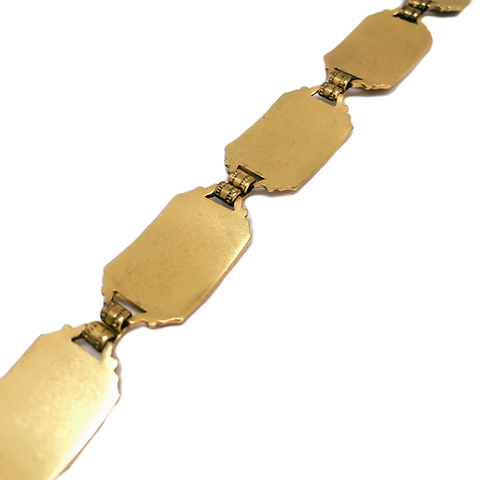 Vintage Jousting Bracelet