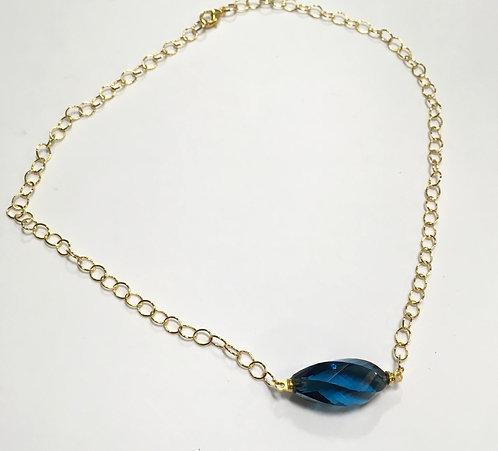 Drift Necklace Blue