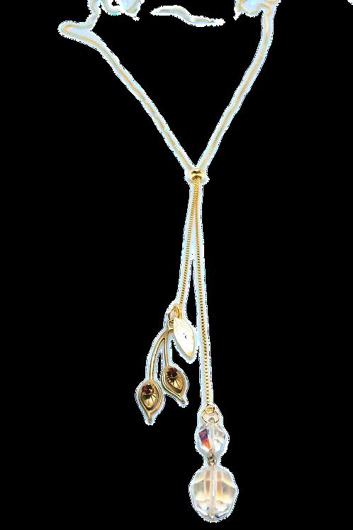 Currant Adjustable Lariat Necklace