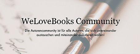 Neu: Die WeLoveBooks Autorencommunity!
