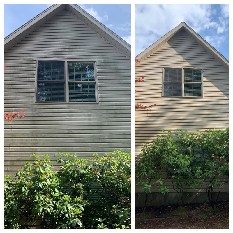 2 Story Home Before-and-After Pressure W