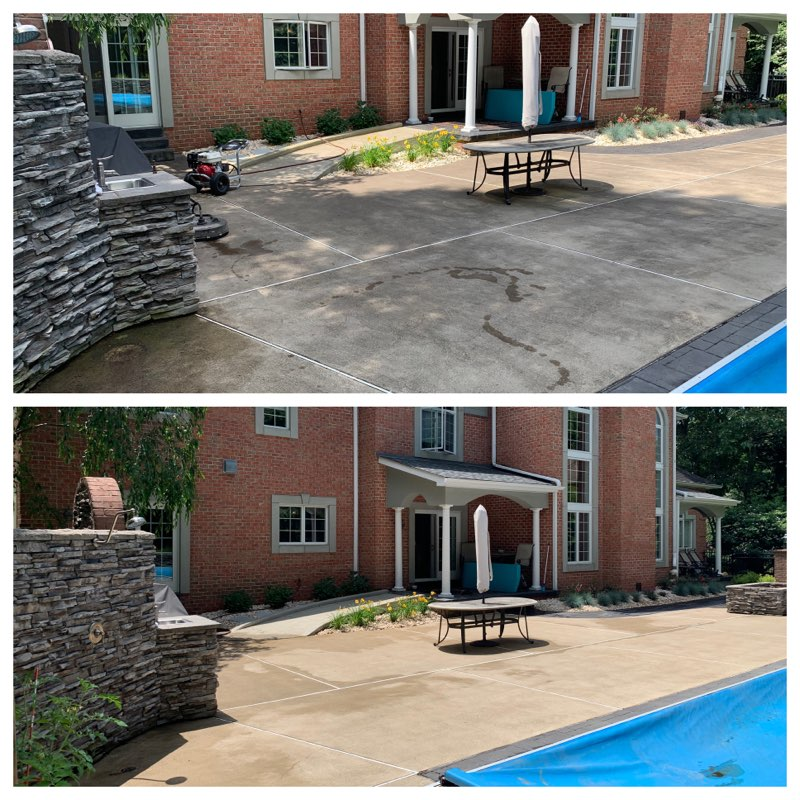 Pool Area Pressure Cleaning, Westmorelan