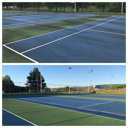 Derry Area School District Tennis Courts