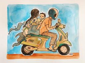 Mumbai Vespa Ride - 2019