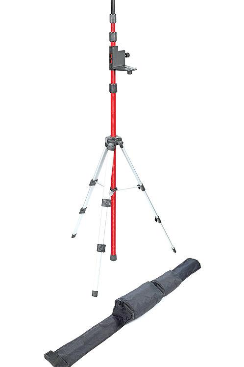 886-58 Professional Tripod w/Pole for Lasers w/one Bracket