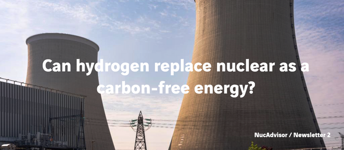 Can hydrogen replace nuclear as a carbon-free energy?