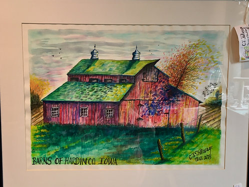 "Barns of Hardin County by Chris ""C. J."" Falkavage"