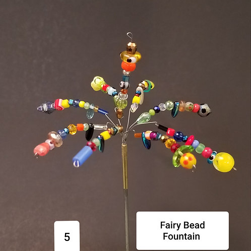 Fairy Bead Fountain by Micky & Dan Johnson