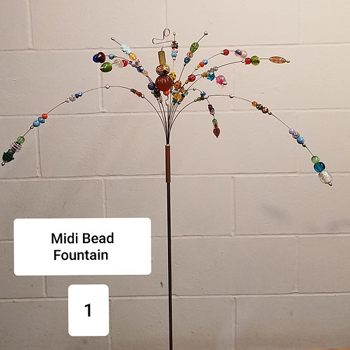 Midi Bead Fountain by Micky & Dan Johnson
