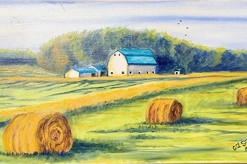 "Norman Borlaug's Farm by Chris ""C. J."" Falkavage"