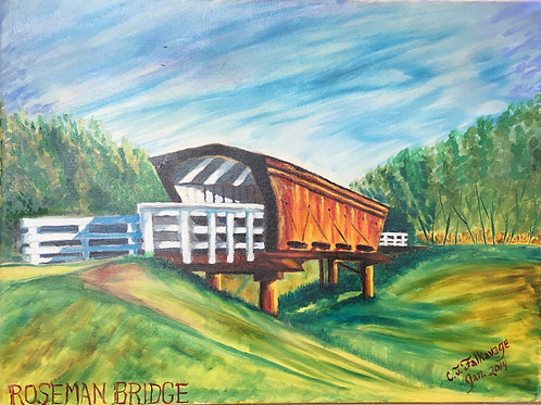 "Roseman Bridge by Chris ""C. J."" Falkavage"