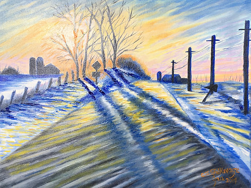 """Cold Highway by Chris """"C. J."""" Falkavage"""