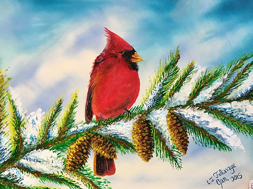 "Cardinal by Chris ""C. J."" Falkavage"