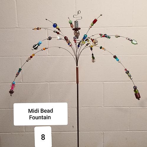 Midi Bead Fountain by Micky & Dan Johnson