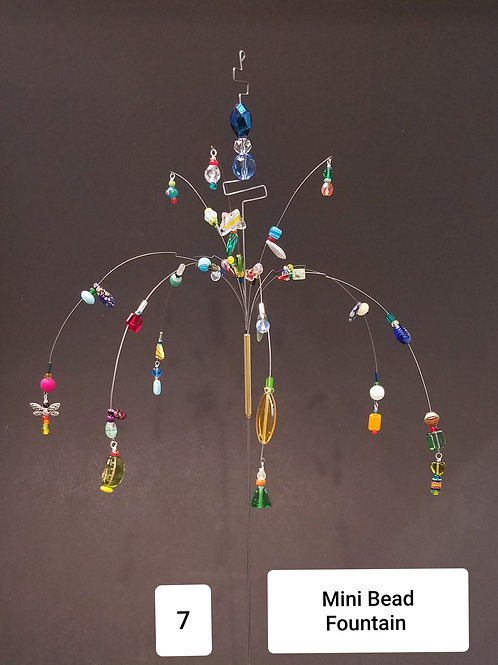 Mini Bead Fountain by Micky & Dan Johnson