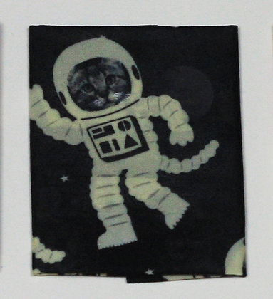 Cats in Space   beeswax food wraps