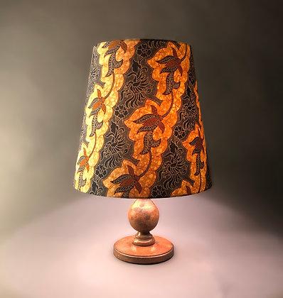 Indonesian batik | empire lampshade