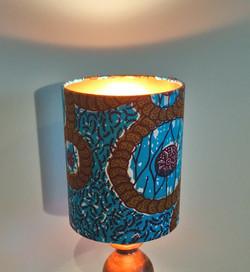 African Wax Print Drum