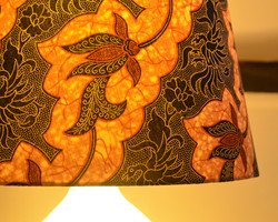 Large Indonesian Batik Cone