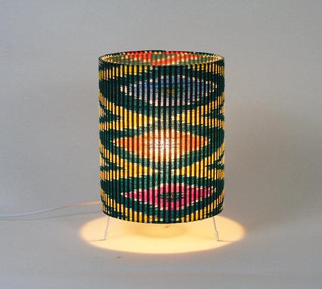 Indonesian Ikat Zigzags | table lamp