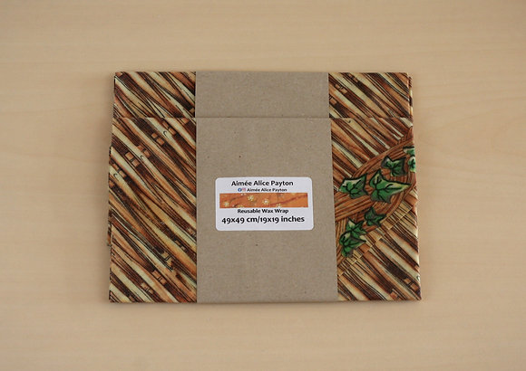 Basketry | beeswax food wraps