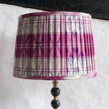 Handstitched pleated ikat