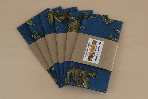 Crocodiles | beeswax food wraps
