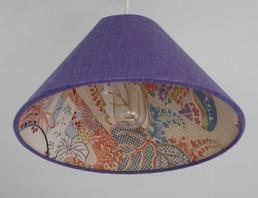 Lilac silk with Antique kimono lining