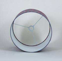 Giant Indian Block Printed Drum
