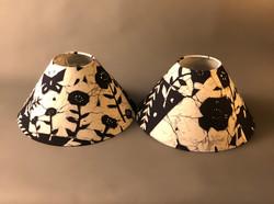 Twin Indigo Batik Cones