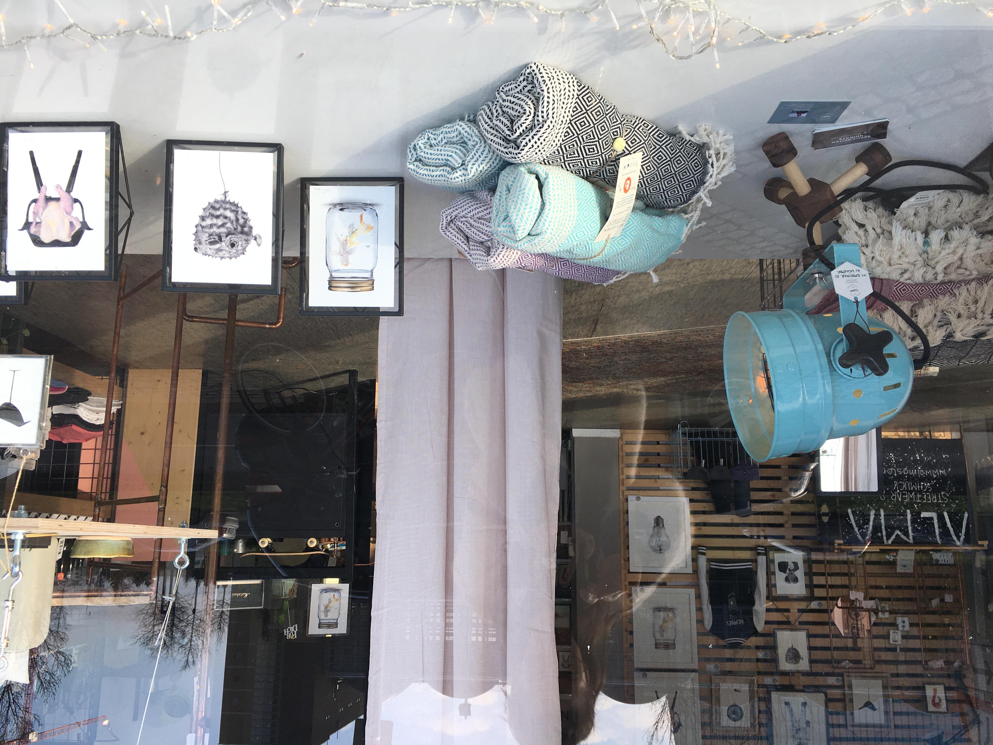 Blick ins Oständ Store, Frankfurt