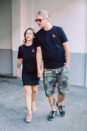 "T-Shirt ""MUSIK LIEBE SCHNAPS"" unisex"