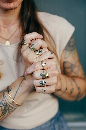 """Ring """"Mood"""" handgraviert"""