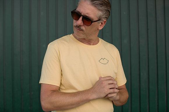 "T-Shirt ""BUSSI BABY"" in Gelb"