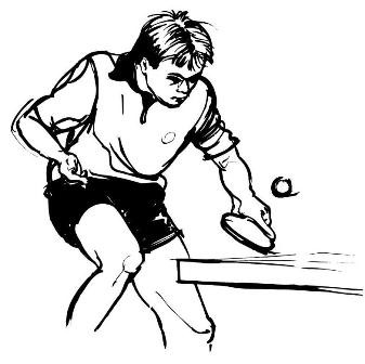 A new way to play table tennis: challenge the way you do things!